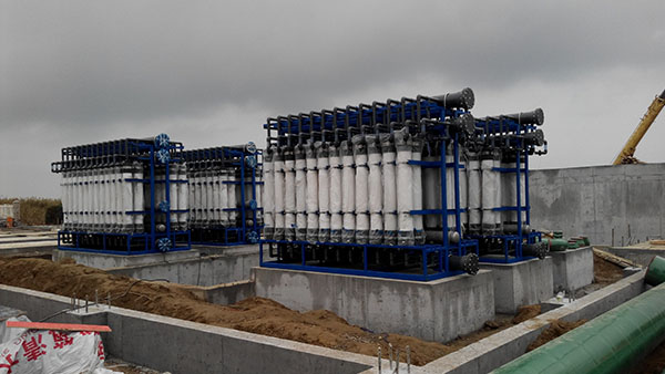Dojin River sewage Treatment Plant in Qingdao