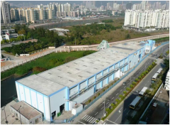 Macao Cross-Border Industrial Park Wastewater Treatment Plant